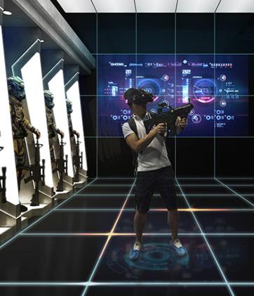 成都江安河VR体验馆项目